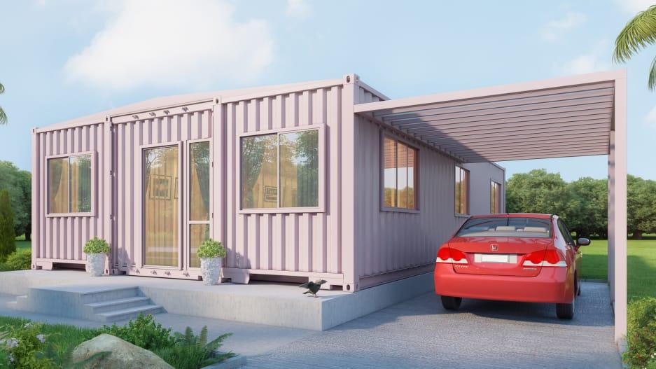 Innovación en el diseño de las casas de Puerto Rico para poder resistir los huracanes.